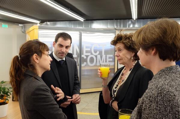 neelie kroes startups greece athens orange grove