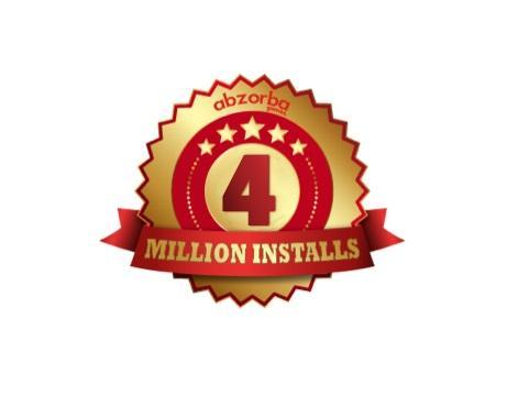abzorba 4 million downloads 460360