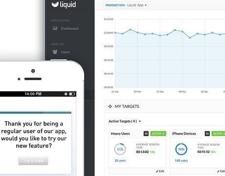 liquid app analytics
