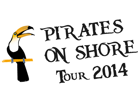 pirates on shore tour 2014 logo