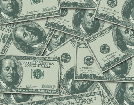 100 Hundred Dollar Bill Money Currency Background