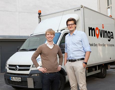 german startup movinga grabbed 20m from index ventures emea startups. Black Bedroom Furniture Sets. Home Design Ideas