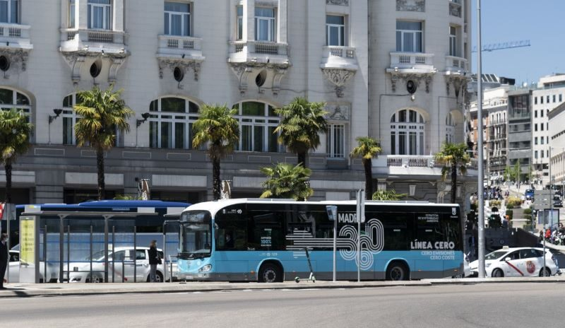 EMT Madrid: Trust in Irizar e-mobility and increase of its fleet by 30 more electric buses